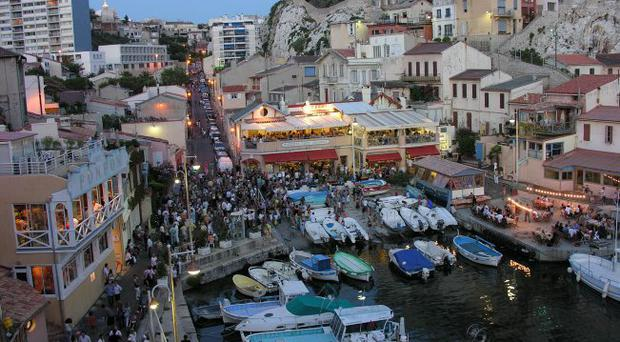 The French port city of Marseille provides great gastronomy in charming surroundings.