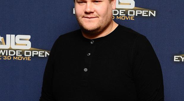 James Corden has presented the show twice before
