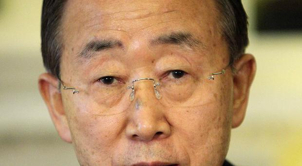 UN Secretary-General Ban Ki-moon wants Cypriot leaders to come to an agreement