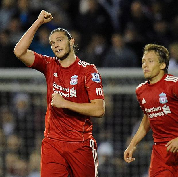 Andy Carroll (left)