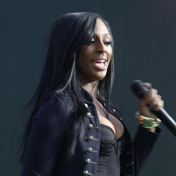 Alexandra Burke is sitting in for judge Kelly Rowland on the X Factor