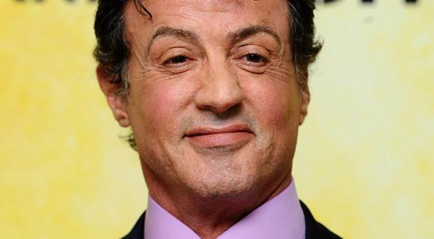 Sylvester Stallone is filming the Expendables sequel