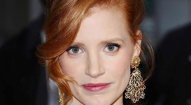 Jessica Chastain has been praised by Michael Shannon
