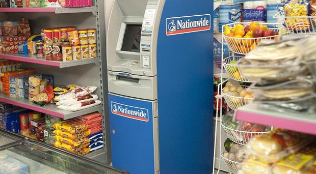 The Nationwide ATM will appear in Dev's corner shop