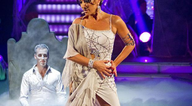 Nancy Dell'Olio was voted off Strictly after the judges mauled her rumba