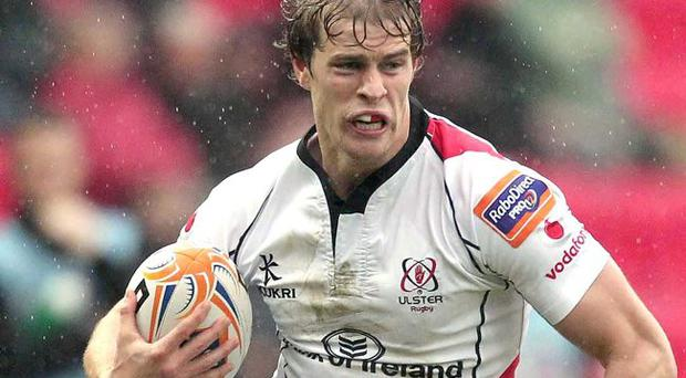 Game time: It was vital that Andrew Trimble got match practice for Ulster last weekend