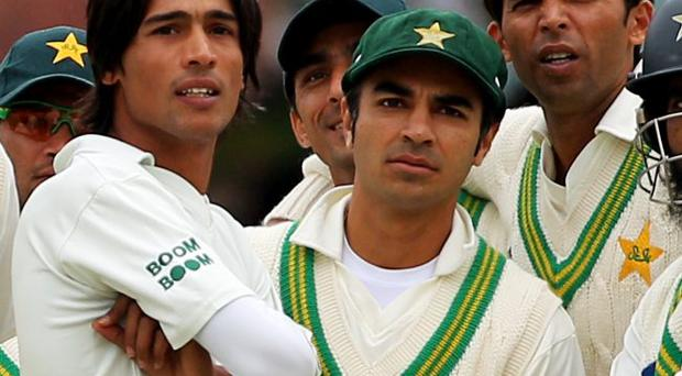 Guilty: (from left) Mohammad Amir, Salman Butt and Mohammad Asif were guilty of 'spot fixing'