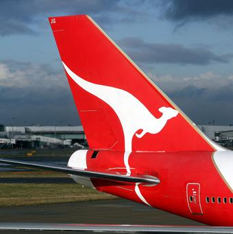A Qantas plane's entertainment system may have been sabotaged amid a labour dispute
