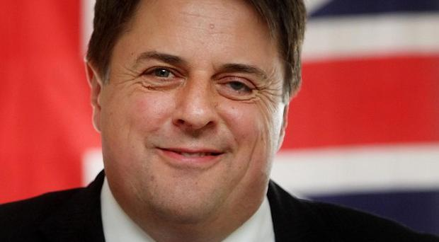 British National Party leader Nick Griffin