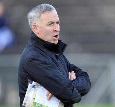 Outspoken: St Gall's manager Lenny Harbinson