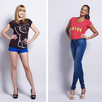 Stars including Alesha Dixon sport T-shirts, available at Asda, to raise funds for this year's BBC Children in Need Appeal (Asda/PA)