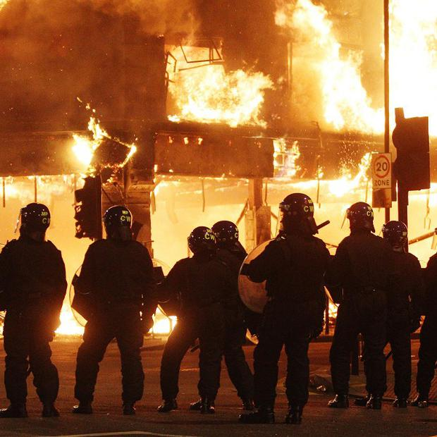 Researchers have looked at what made young people take part in this summer's riots in England