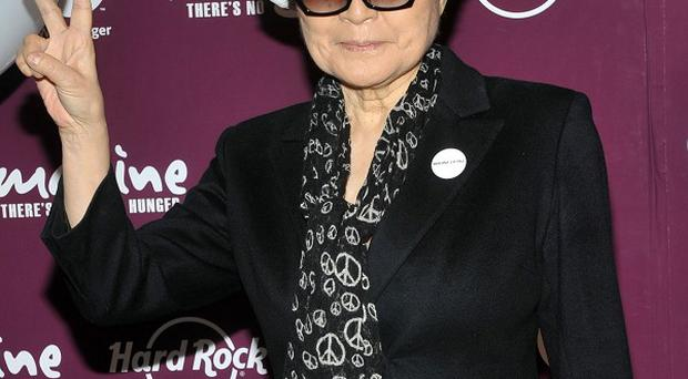Yoko Ono says John Lennon's Imagine was not an instant hit (AP/Hard Rock International)