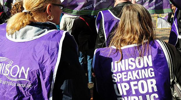 Unison members have backed a walkout on November 30