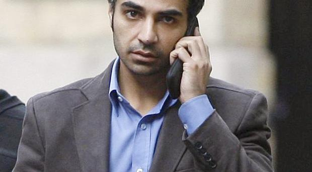 End of line: Salman Butt at court yesterday for sentencing after being found guilty of spot fixing