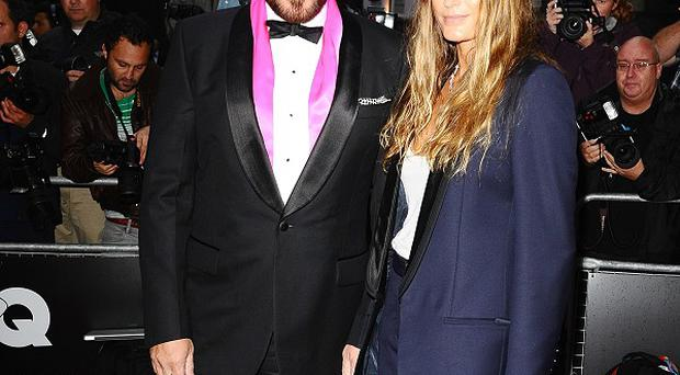 Yasmin Le Bon posed as a member of her hubbie Simon's band for a special Duran Duran film