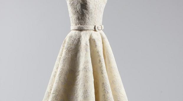 Audrey Hepburn's dress is expected to fetch up to £60,000 at auction