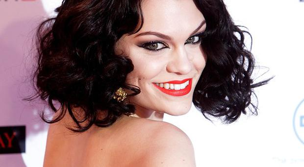 Jessie J arrives for the MTV Europe Music Awards 2011 in Belfast