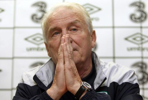 Giovanni Trapattoni knows Estonia will be a tough nut to crack in the play-offs