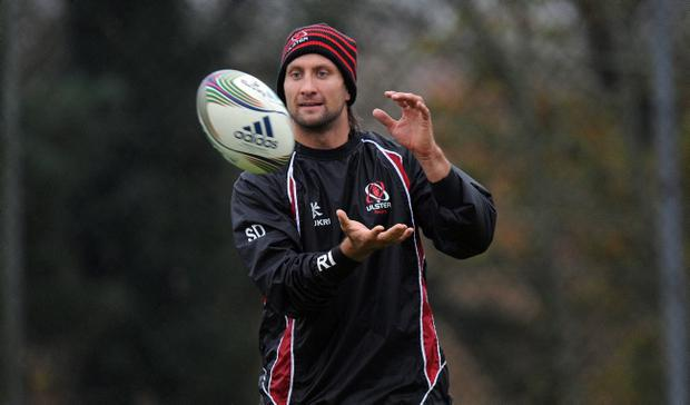 Simon Danielli prepares for Ulster's assault on the Heineken Cup