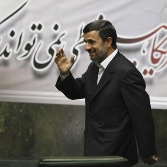 Iranian president Mahmoud Ahmadinejad has attacked claims the country is trying to create nuclear weapons(AP)