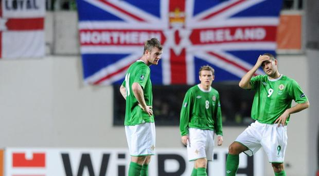 Northern Ireland finished second from bottom in their Euro 2012 qualifying group