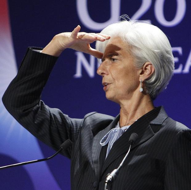 Christine Lagarde expressed concerns about the consequences of the eurozone crisis, particularly on Asia