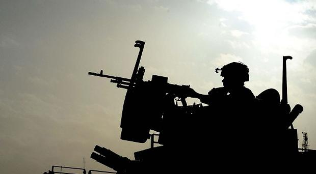 A leaked classified memo suggested as many as 16,500 Army personnel could be made redundant by April 2015