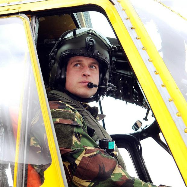 The Duke of Cambridge will be posted to the Falklands with the RAF Search and Rescue force for six weeks