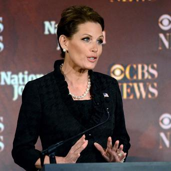 Republican presidential candidate Michele Bachmann said she would reinstate waterboarding (AP)