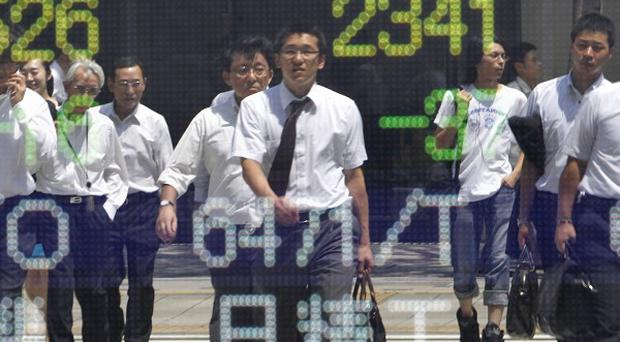 Japan's economy expanded at a six per cent annualised rate in the July-September quarter (AP)