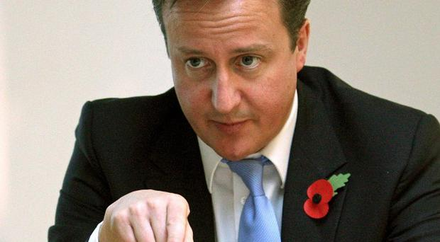 David Cameron is targeting school performance in middle class areas