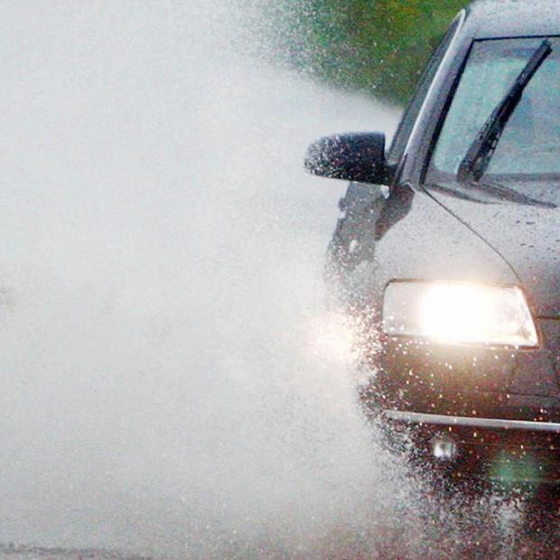 A total of 16 per cent of drivers admit to splashing pedestrians on purpose by driving through puddles, according to a survey