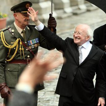 Irish President Michael D Higgins. The Republic's constitutional think-tank has recommended Irish citizens in Northern Ireland should be given the right to vote in Irish presidential elections