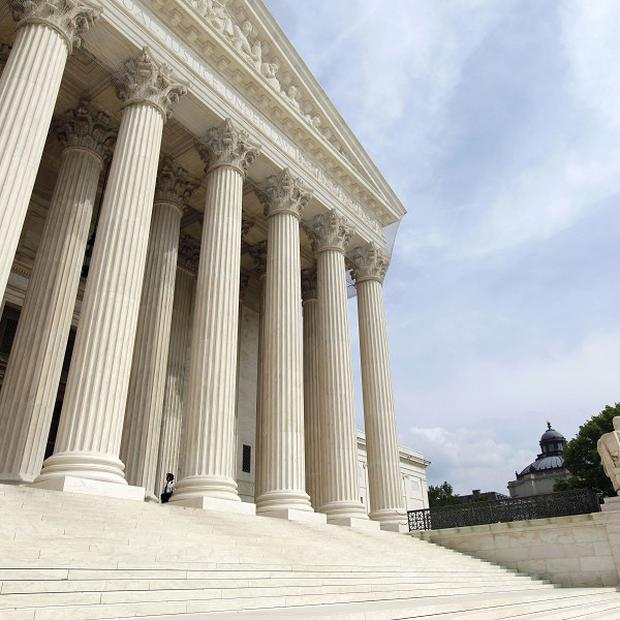 The US Supreme Court in Washington is to rule on President Obama's healthcare reforms in an election year(AP)