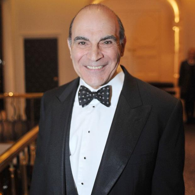 David Suchet will play Poirot for the last time