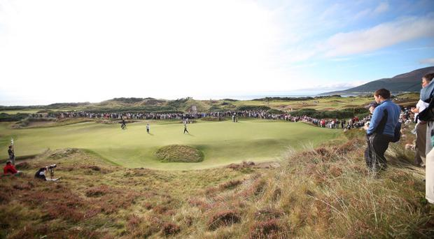 Green fees at Royal County Down in Newcastle will cost visitors a mere £50 up until next February and elsewhere throughout Ireland there are good deals to be had