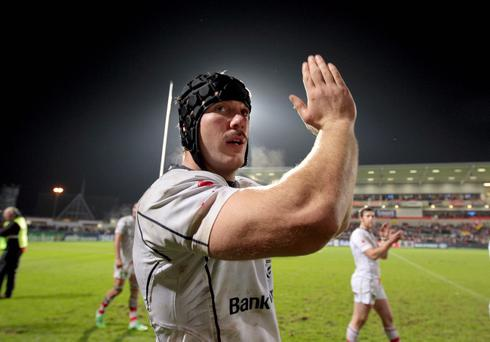 Stephen Ferris put in an inspirational performance against Clermont
