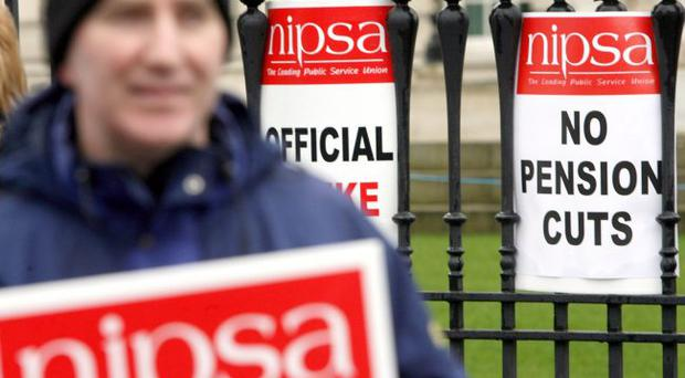 Striking back: public sector workers are right to protest about pension cuts being instigated by David Cameron