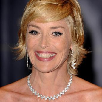 Sharon Stone will play the adult star's mum in the film