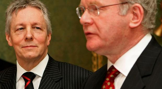 First Minister Peter Robinson and Deputy First Minister Martin McGuinness have unveiled their Programme for Government