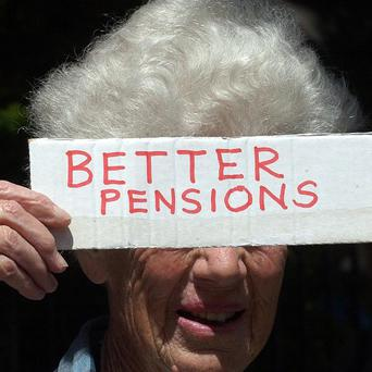 A thinktank claims people would work longer if the Government introduced a graduated pensions scheme