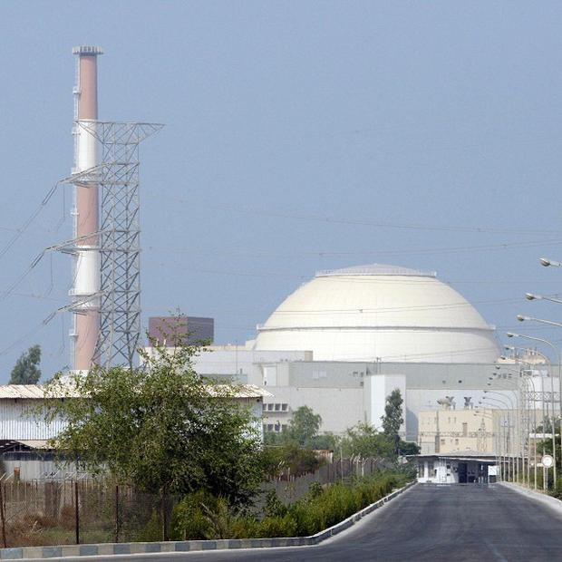 The Bushehr nuclear power plant, outside the southern city of Bushehr, Iran (AP)