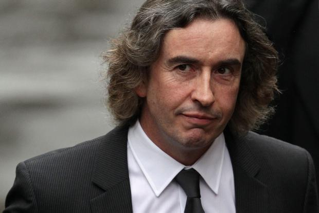 LONDON, ENGLAND - NOVEMBER 22: Comedian Steve Coogan arrives to give evidence at The Leveson Inquiry at The Royal Courts of Justice on November 22, 2011 in London, England. The inquiry is being lead by Lord Justice Leveson and is looking into the culture, practice and ethics of the press in the United Kingdom. The inquiry, which will take evidence from interested parties and may take a year or more to complete, comes in the wake of the phone hacking scandal that saw the closure of The News of The World newspaper. (Photo by Oli Scarff/Getty Images)