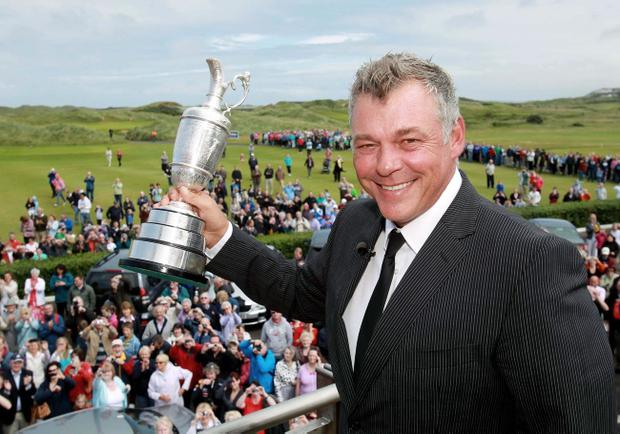 Darren Clarke's exploits in winning this year's Open Championship has seen him placed among the prestigious Texaco Sportstars