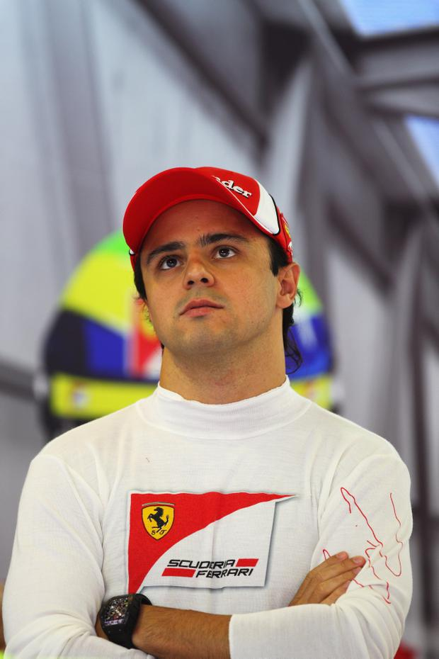 Felipe Massa has failed to claim a podium finish