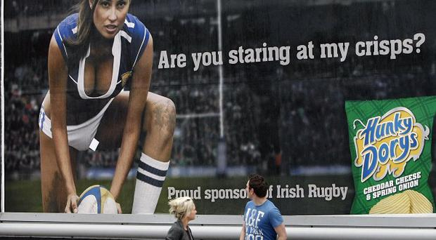 The Hunky Dory girls have been given the red card by advertising chiefs
