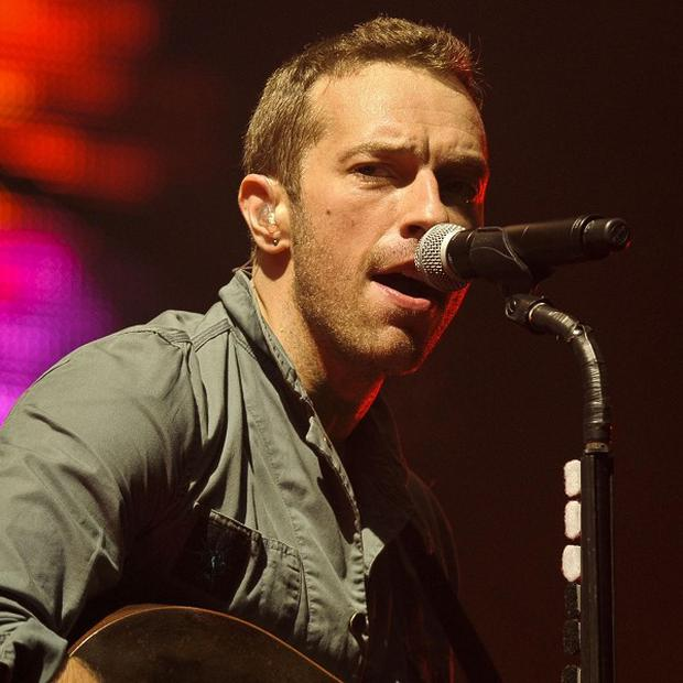 Coldplay have organised a charity benefit