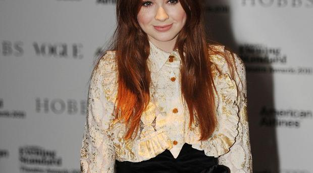 Karen Gillan enjoyed her brief appearance in the Christmas special