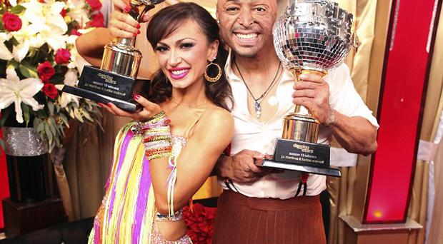 JR Martinez and his partner Karina Smirnoff have been crowned Dancing With The Stars champions